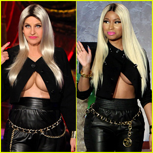 ellen-degeneres-nicki-minaj-costume-for-halloween-2013