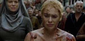 cersei walk of shame, cersei lannister, game of thrones finale, jon snow dead